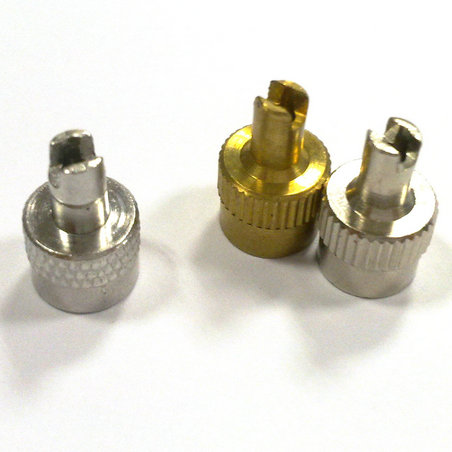 Zn Alloy Key Type Tire Valve Cap